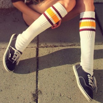 ... socks basketball hot cute wine red burgondy high socks socks vans