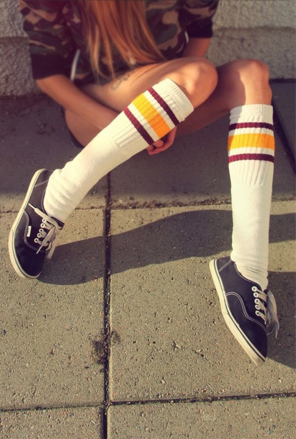 jewels baseball football socks red yellow vintage hipster shoes vans camouflage white white socks basketball hot cute wine red burgondy high socks