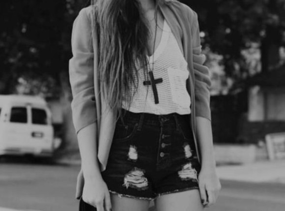 shorts swag vintage indie hipster sweater shirt cross tank top cardigan