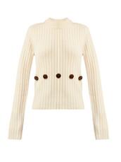 sweater,knit,cream
