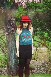 secret garden,hat,shirt