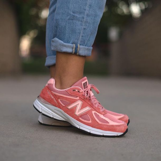"75e4f7c1bb6 shoes new balance m990sr4 ""pink"" sneakers new balance gucci pink sneakers"