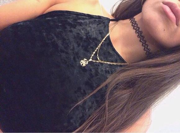 top cute hippie fashion vintage jewels black jewelry black grunge hipster old school