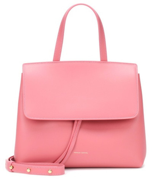 lady bag shoulder bag leather pink