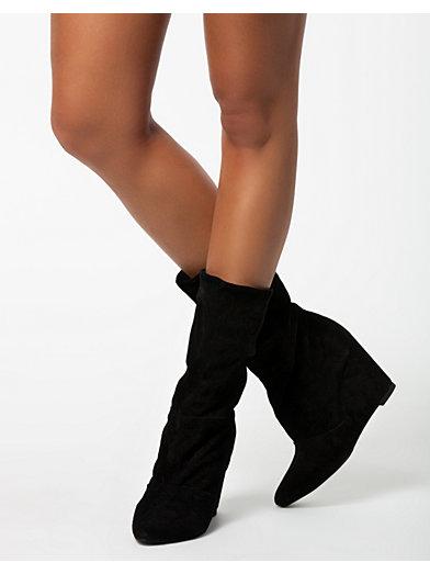 Flourless Boots - Vila - Sort - Hverdagssko - Sko - Kvinde - Nelly.com