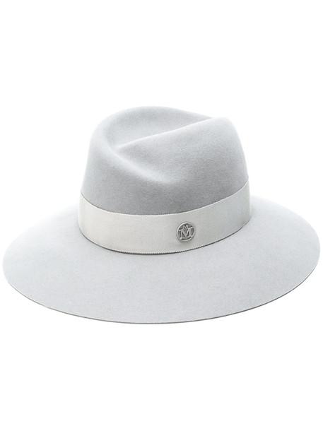 Maison Michel trilby hat - Grey