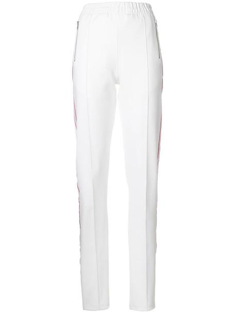 Misbhv pants track pants women spandex white