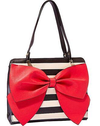 bag redbow purse bowsandstripes blackandwhitestripes boots