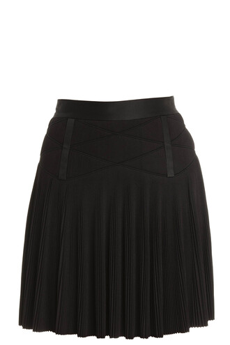 skirt mini skirt mini pleated black