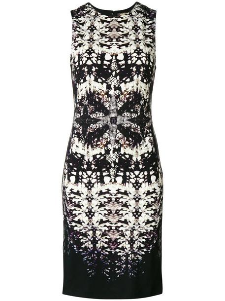 Roberto Cavalli dress shift dress sleeveless women spandex black