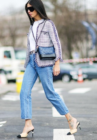 bag chanel gabrielle small hobo bag chanel bag chanel blue bag blue jeans jeans mom jeans jacket