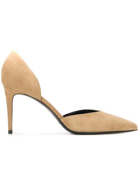 Saint Laurent pumps nude shoes