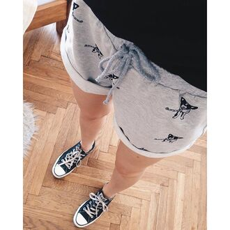 shorts yeah bunny grey dog frenchie cute