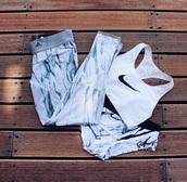 pants,leggings,adidas,workout leggings,fitness,fashion,style,marble,nike