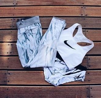pants leggings adidas workout leggings fitness fashion style bra