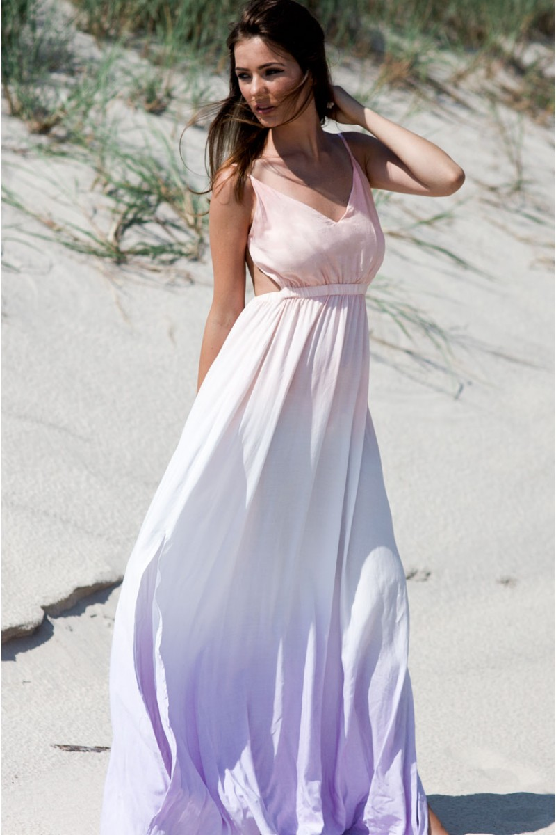 Ombre Maxi Dress | Haute Rogue