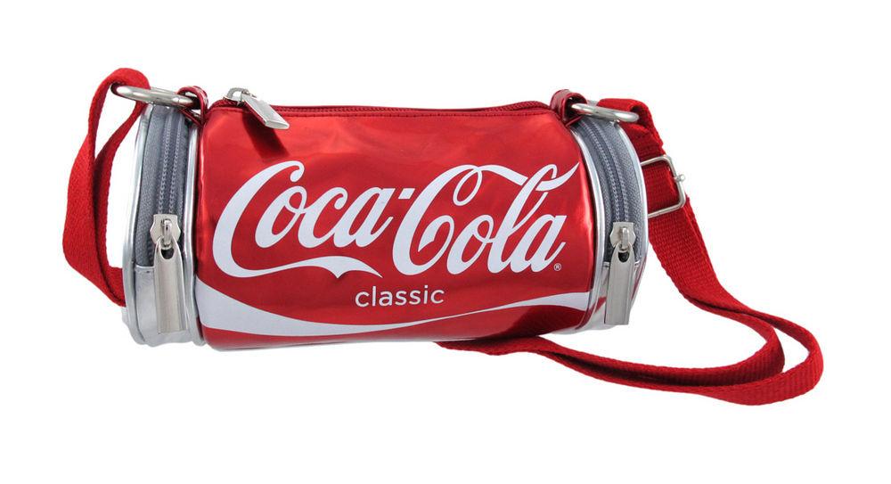 Licensed Coca Cola Classic Shoulder Bag Purse