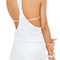 Luli fama white t-back mini dress