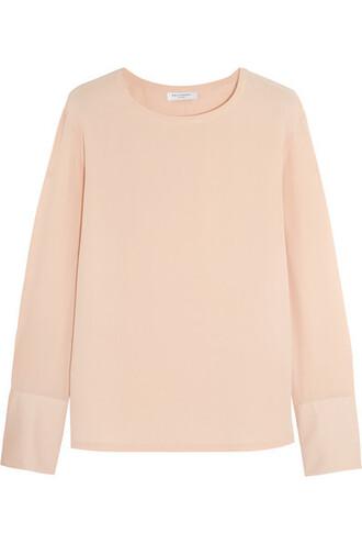 top blush pink sweater