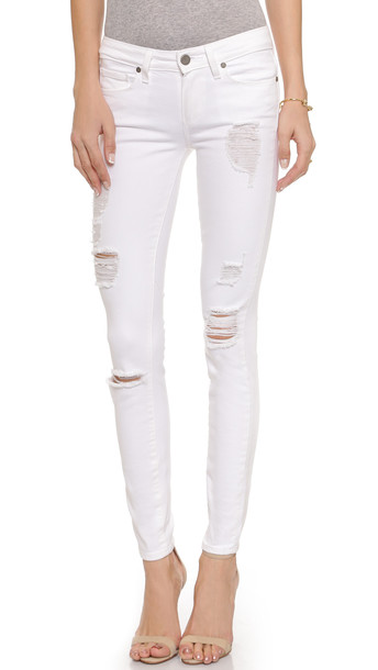 Paige Verdugo Ultra Skinny Jeans - Optic White