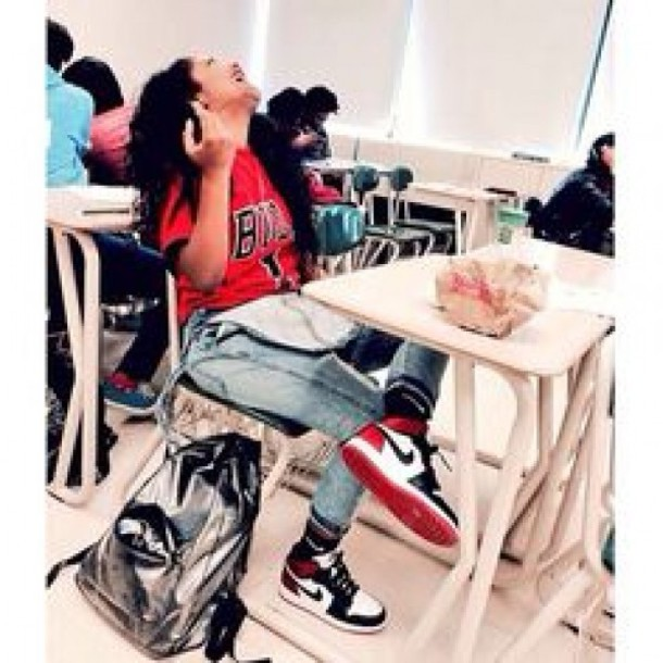 9df2735db22e jumpsuit overalls jeans chicago bulls shirt nike shoes bag jordans nike air  nike air force 1