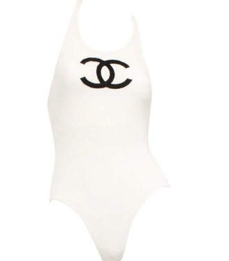swimwear chanel one piece swimsuit