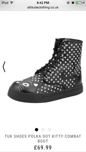shoes cats boots hipster emo