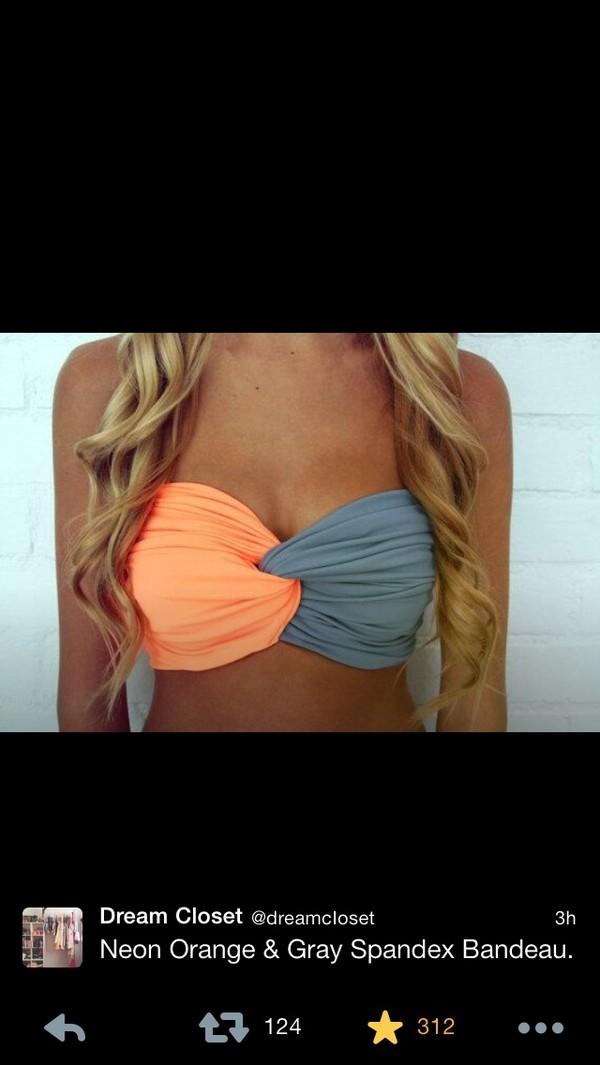 swimwear bandeau bikini