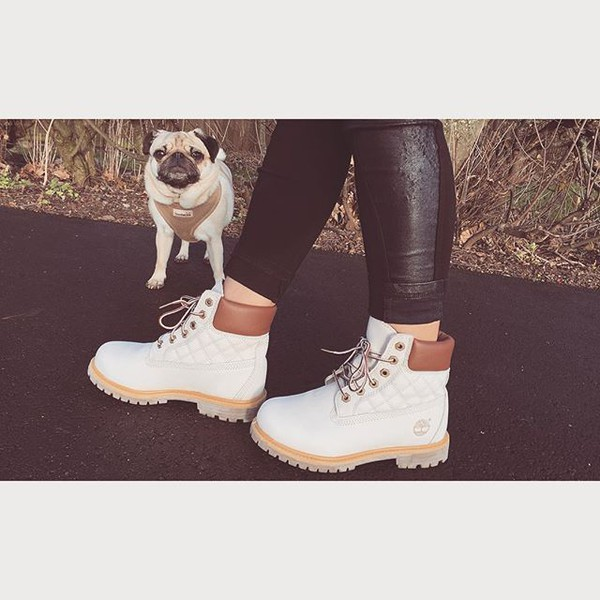 Shoes: timberlands, timberland boots, boots, white boots, leather ... : timberland quilted boots - Adamdwight.com