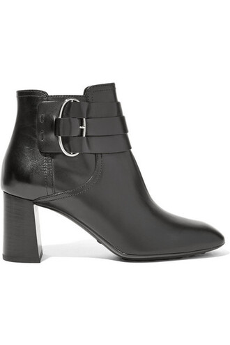 leather ankle boots boots ankle boots leather black shoes