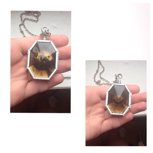 jewels hp potterhead necklace beautifull hermione ron weasley harry potter cool