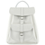 Grafea SALT White Leather Backpack