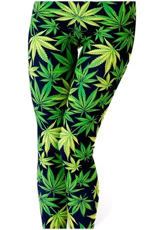 leggings weed rave smoke