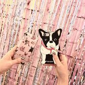 phone cover,yeah bunny,iphone,dog,frenchie,iphone8