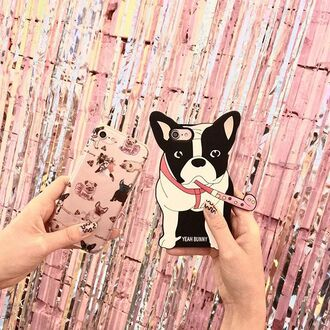 phone cover yeah bunny iphone dog frenchie iphone8