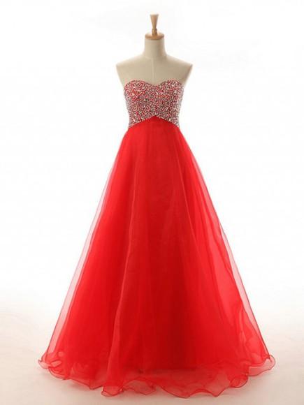 prom dress ball gown party dress long dress organza dress long party dress sweetheart dres
