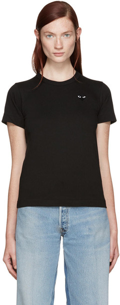 Comme Des Garçons Play Black Heart Patch T-shirt