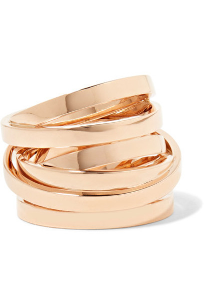 Repossi rose gold rose ring gold ring rose gold ring gold jewels