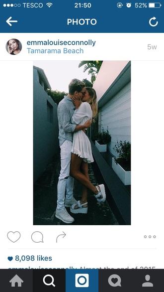 shoes dress summer pretty pretty and white hot instagram celebrityfashion platform shoes