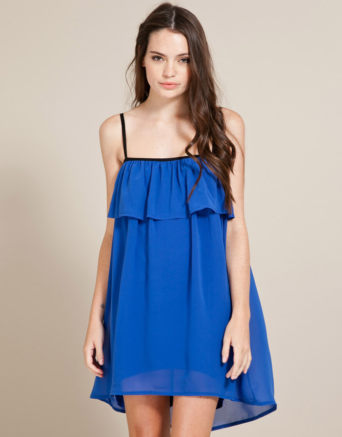 Miso Pipe Frill Dress from just £5.00 - Dresses from Republic: great styles and great prices.