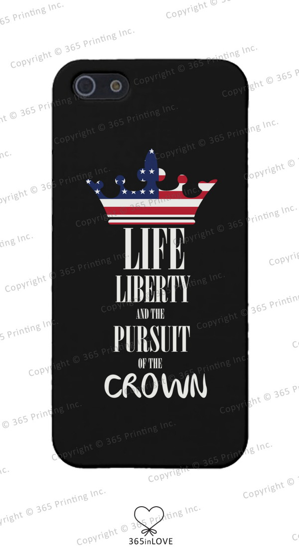 phone cover pursuit of the crown phone cover iphone 4 phone case iphone 5 case iphone 5 case galaxy s4 case galaxy s3 cases red white and blue crown accessories crown phone cases july 4th july 4th independence day stripes stars merica