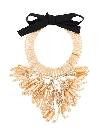 chunky necklace women necklace nude jewels