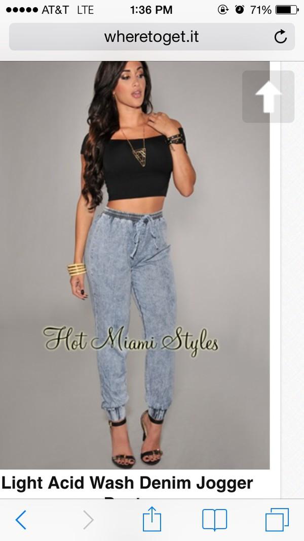 jeans sweatpants