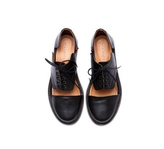 shoes oxfords cut-out boots cut out ankle boots