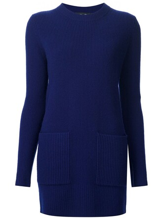 tunic blue top