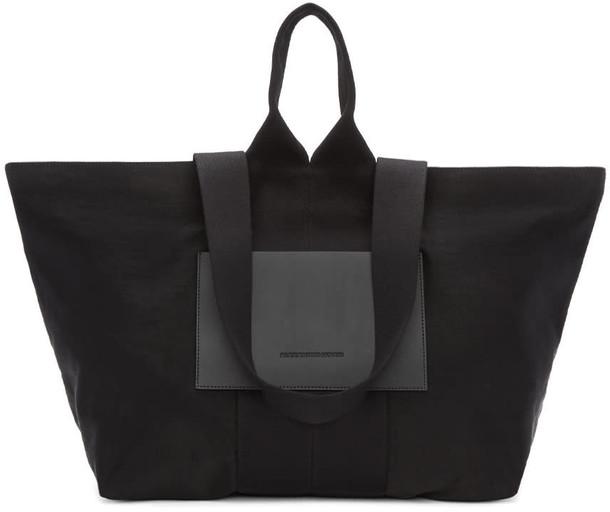 Alexander Wang black satin bag