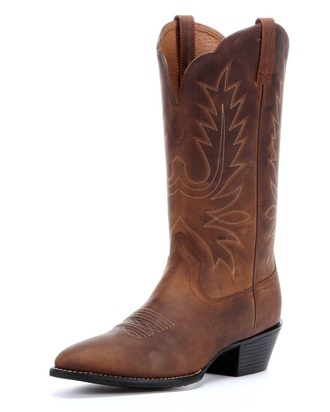 shoes cow girl boots brown