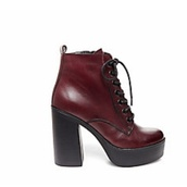 shoes,red,wine red,wine red shoes,red shoes,high heels,platform shoes,burgundy shoes,steve madden,chunky heels