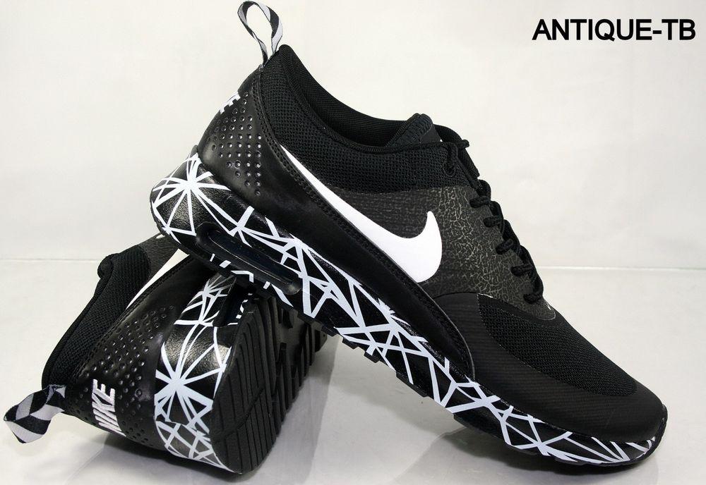 Premium Nike Air Max Thea Des Femmes De Nouveaux Modèles En Noir Et Blanc Parcourir réduction 1KQULY1a