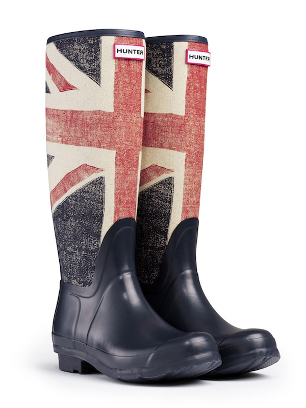 Hunter Boots Union Jack